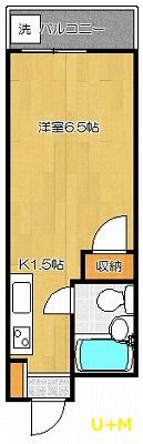 フラワーハイツ中田 101