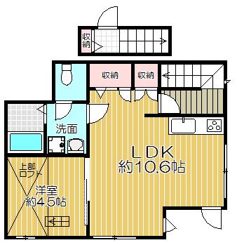 パティオ高円寺北 006 1LDK 2人入居可能