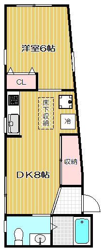 リーベンスガルテン102号室 礼金0円です